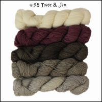 Mad Hatter Mini Skein Packs 58 Toast & Jam