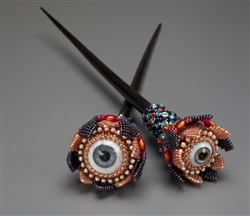 Eye Flower Hair Sticks