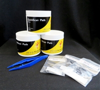 3 Jars QuickScan Pads + 3 Packs of Electrodes