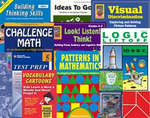 GATE Test Prep Bundle for Grade 4