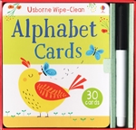 Alphabet Cards Wipe-Clean