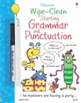 Grammar and Punctuation Wipe-Clean