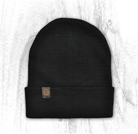 2-Way Cuff Beanie- Black