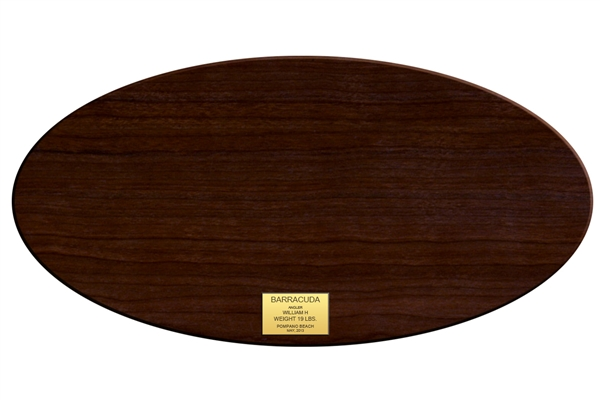 Wood Plaque - Oval