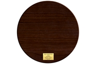 Wood Plaque - Round