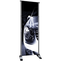"Excel Fixed Width Banner Stand 48""w x 36""-96""h"