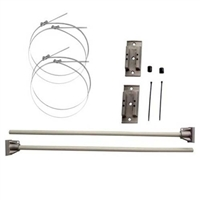 Hurricane 30inch banner brackets kit