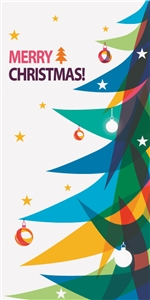 Holiday Stock Street Pole Banner BPHO01