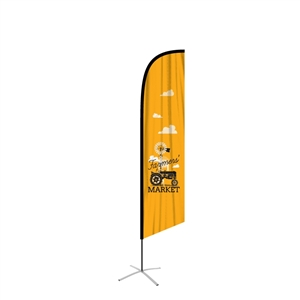 FeatherFlag Outdoor Large Angled Banners