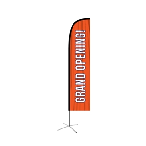 Large Straight Feather Flag