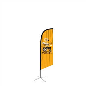 Feather Flag Outdoor Medium Angled Banners