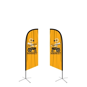 ffmang2 double-sided feather flag