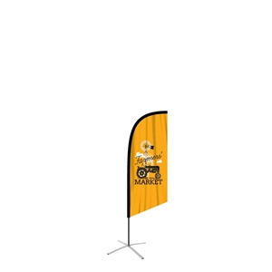 FeatherFlag Outdoor Small Angled Banners