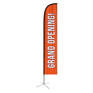 Extra Large Straight Feather Flag