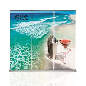 Cascade Retractable Banner Stand Back Wall
