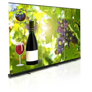 Premium Retractable Banner Stand Back Wall