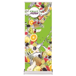 Raindrop Banner Stand with Fabric Graphic