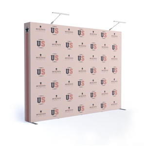 10ft Tension Fabric Pop-Up Trade Show Display