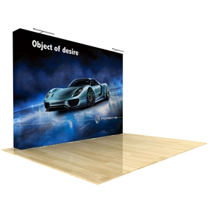10ft Light Straight Tension Fabric Display