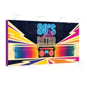 star fabric 16ft tension fabric pop-up display