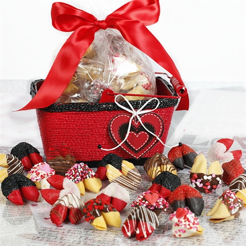 Valentine S Day Fortune Cookies Chocolate Covered Fortune Cookies