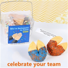 team appreciation fortune cookie gift