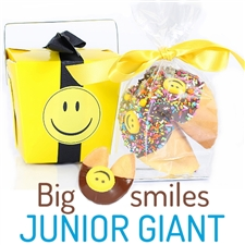 Smiley Junior Giant Fortune Cookie is sure to bring a smile to anyones face.