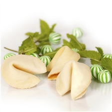 Flavored Fortune Cookie Cookies in a Refreshing White Peppermint