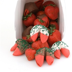 Chocolate Covered Fortune Cookies Brought to Life With Amazing Strawberry Flavor.