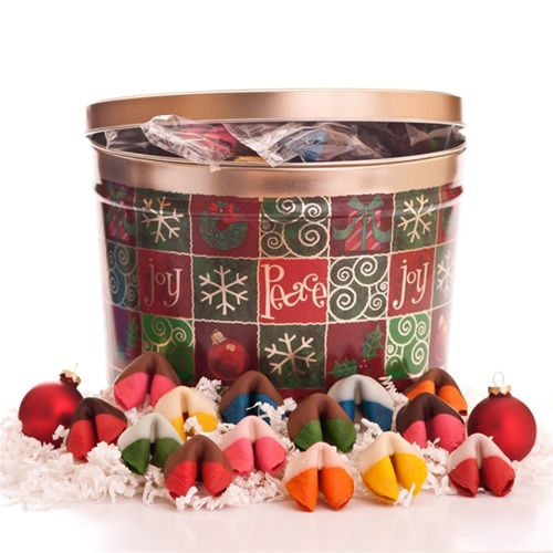 Fortune Cookies Chocolate Covered Deluxe Holiday Sampler