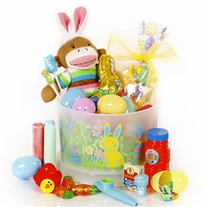 This Easter deluxe sampler is perfect for your easter bunny.