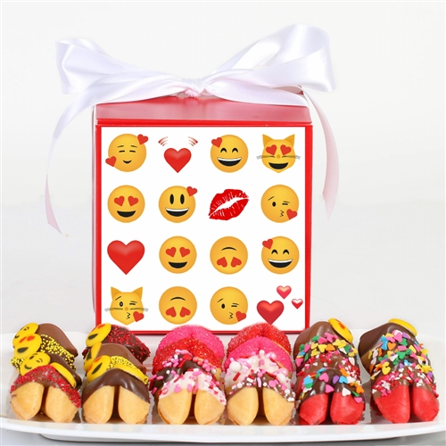 Chocolate covered fortune cookies are the perfect valentine's day gift for your sweetheart.