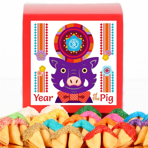 This 2019 Chinese New Year Fortune Cookie gift is a sweet treat