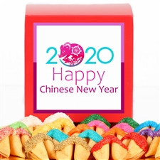 This 2020 Chinese New Year Fortune Cookie gift is a sweet treat
