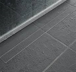 QuARTz Plus Linear Drain - Tile Grate