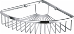 Kube Single Corner Wire Basket - Chrome