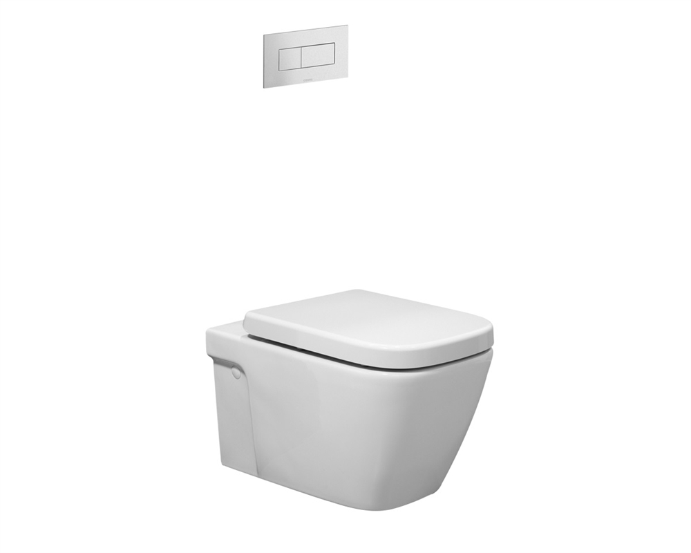 Caroma Cube Invisi Series Ii Wall Hung Toilet W Soft