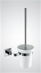 Aqua SQUADRA Toilet Brush - Chrome