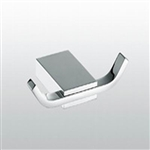 Aqua FINO Double Robe Hook - Chrome