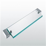 Aqua FINO Glass Shelf  - Chrome