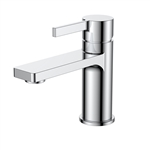 Aqua Sotto Single Lever Wide Spread Bathroom Vanity Faucet - Chrome