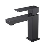 Aqua Kubo Single Lever Bathroom Vanity Faucet - Chrome