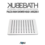 "Aqua Piazza by KubeBath 8"" Square Rain Shower Head"