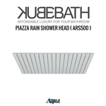 "Aqua Piazza by KubeBath 20"" Square Rain Shower Head"