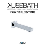 "Aqua Piazza by KubeBath 7"" Long Tub Filler"