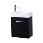 Bliss 18'' Wall Mounted Modern Bathroom Vanity