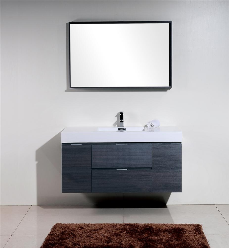 Modern Single Sink Bathroom Vanities