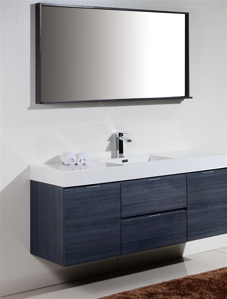 the bliss by kubebath is one of the most elegant modern bathroom vanities - Modern Single Sink Bathroom Vanities
