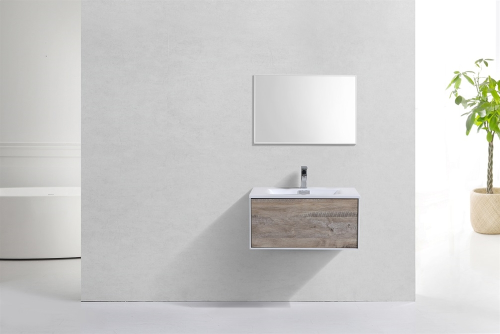 Divario 30 Inch Nature Wood Wall Mount Modern Bathroom Vanity on 80 inch bathroom vanity modern, 24 inch bathroom vanity modern, 48 inch bathroom vanity modern, 42 inch bathroom vanity modern,