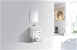 Eiffel 24'' High Gloss White Vanity